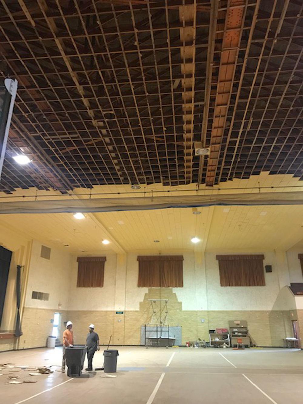 Gym at Fremont City Auditorium