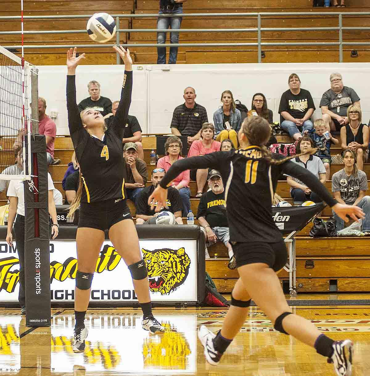 Photos: Fremont volleyball vs. Grand Island, 9.12.17