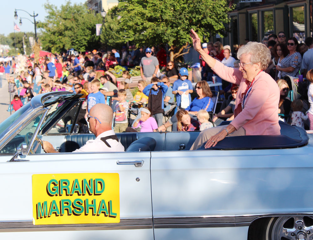 Janet Snell grand marshal of Grand Parade
