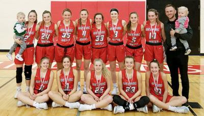 Weeping Water girls holiday tournament champs photo