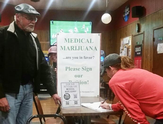 Marijuana ballot