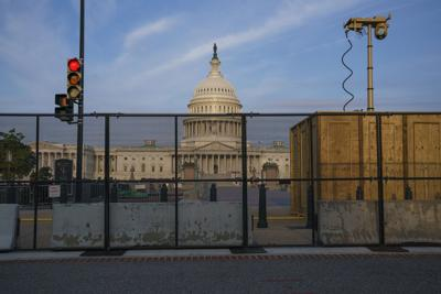 Capitol Breach Fence