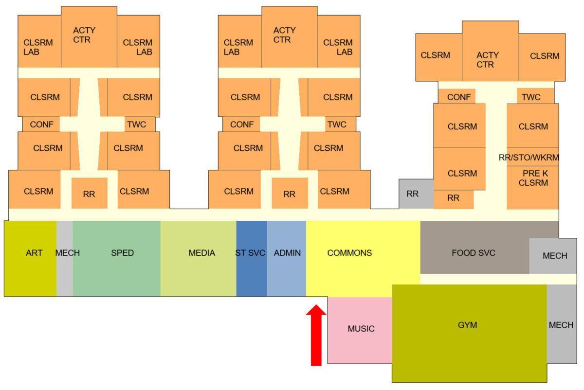 Elementary School floorplan