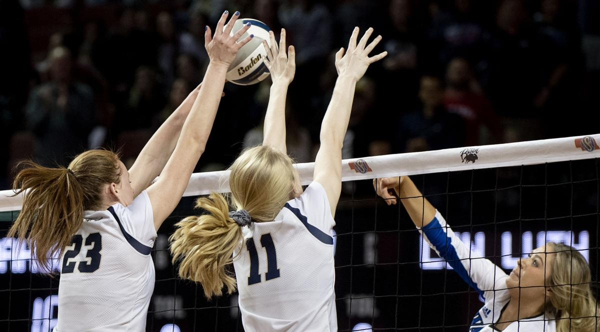 C-1 state volleyball, Wahoo vs. Lincoln Lutheran, 11.8
