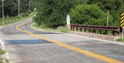 Weeping Water Road bridge