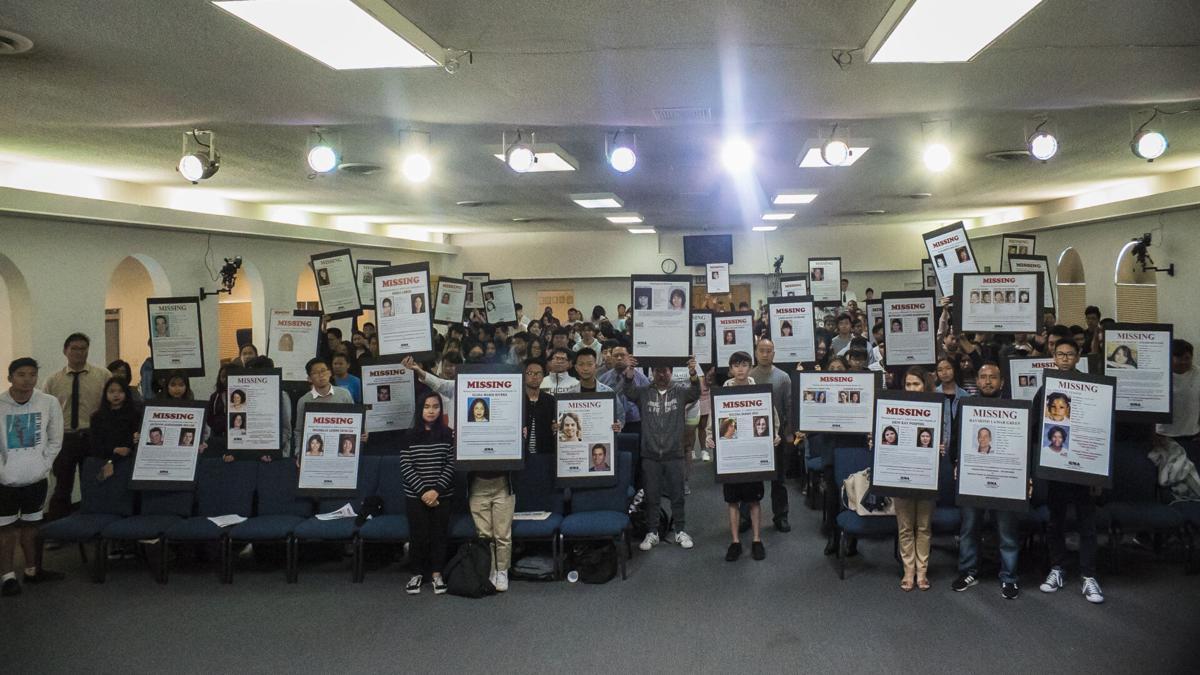 Gina Bos missing posters