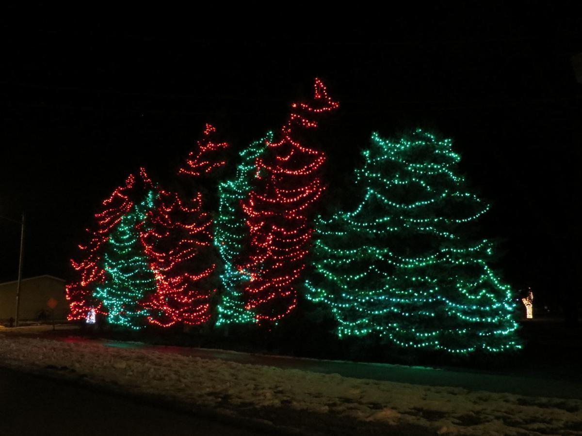 walking backward to christmas
