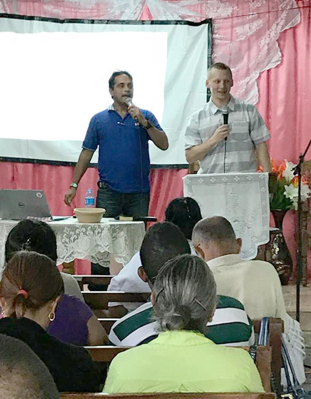 Teaching in Las Tunas