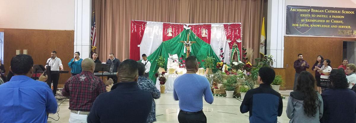 Our Lady celebration previous