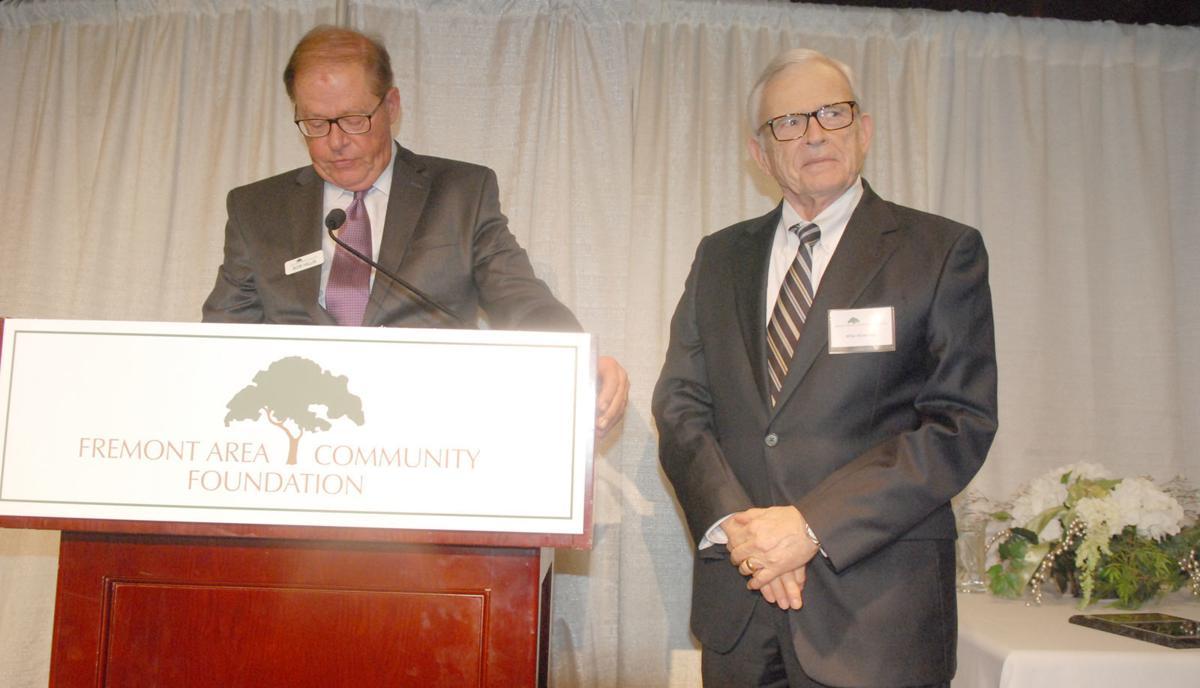 Bob Hillis and Michael Wiseman at FAFC event