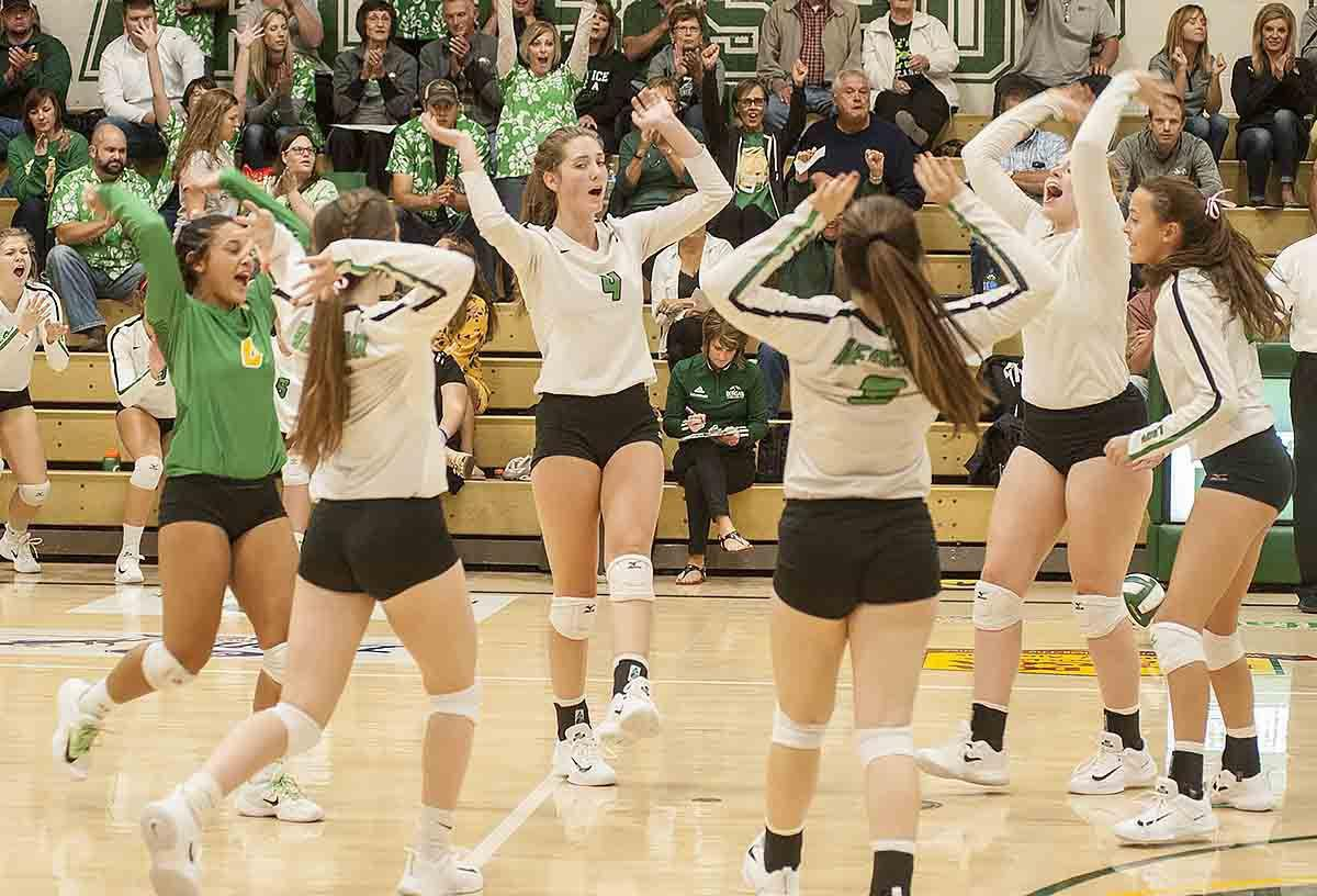 Photos: Bergan volleyball vs. David City Aquinas, 10.5.17