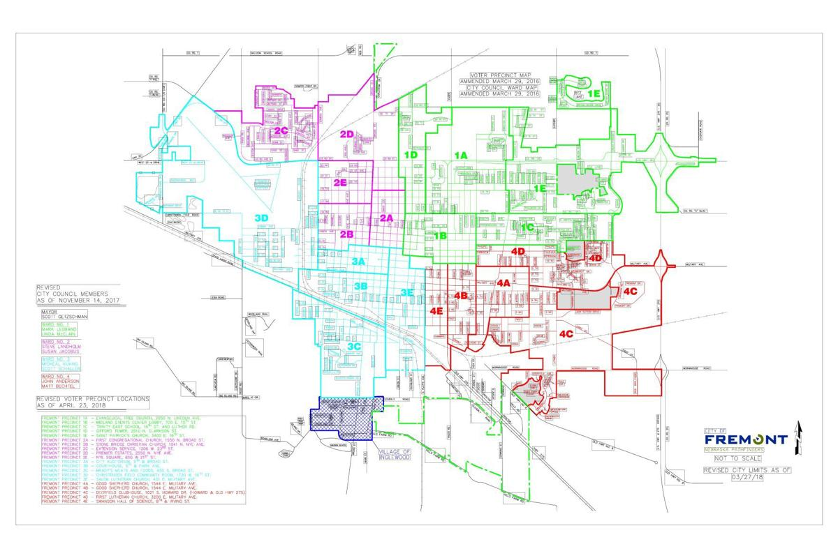 Fremont Voter Precinct Map Fremonttribune Com