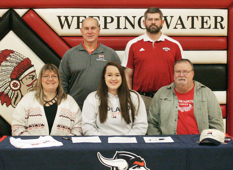 Becca Markham signs with Midland track and field