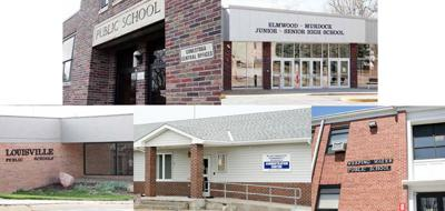 Small icon of five Cass County schools