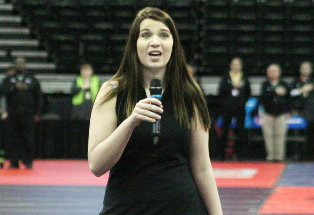 Lexie Kuhn sings at state photo 1