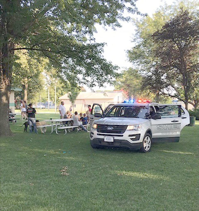 National Night Out in North Bend