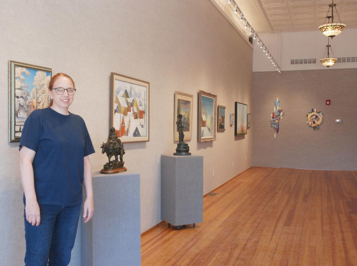 FAAA executive director in new west gallery