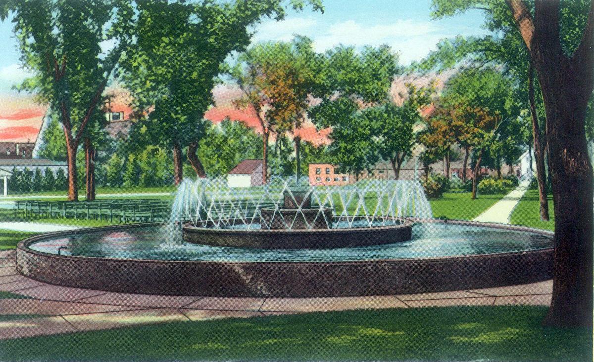 Johnson C. Fremont Park Fountain