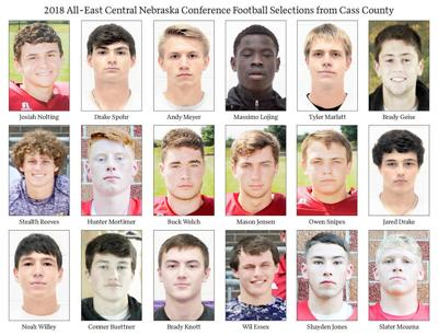 2018 All-ECNC Football Selections from Cass County