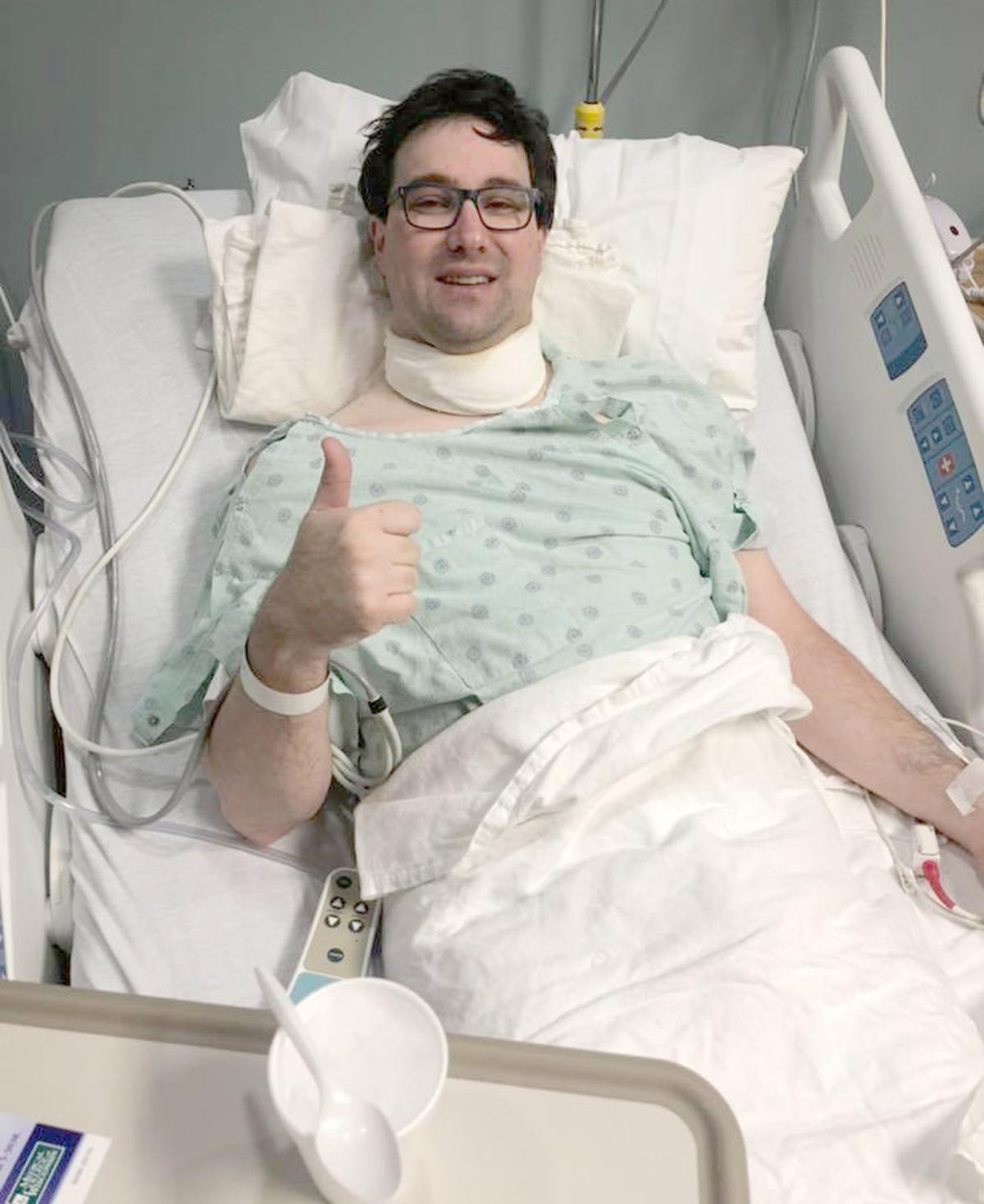 Flanagan after surgery