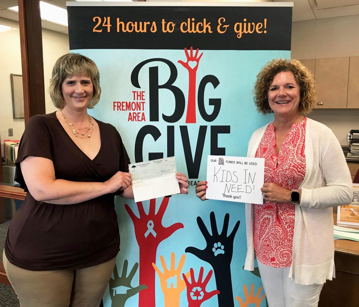 AEF check Big Give