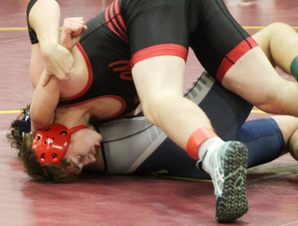 Weeping Water Tyler Essary gets pin