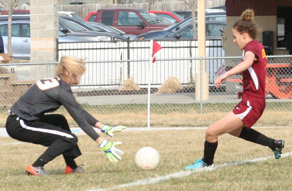 Claire Leonhardt against Omaha Roncalli
