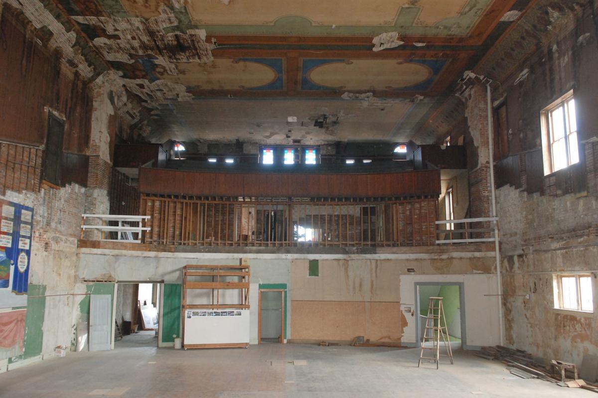 Second floor of FOH