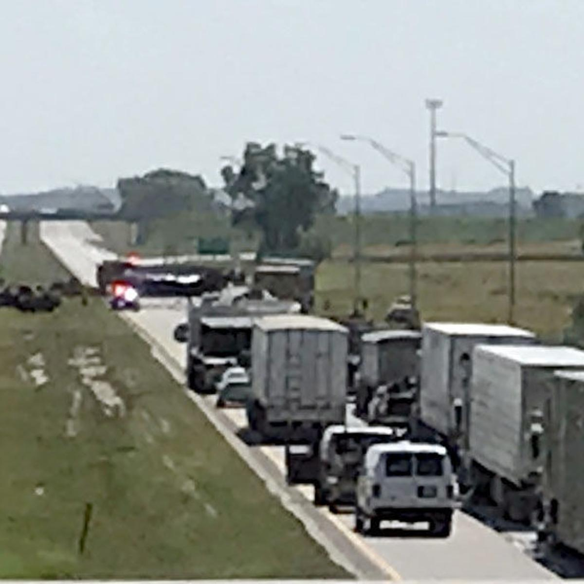 Multiple vehicle accident occurs on U S  Highway 275 | Local