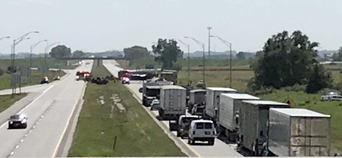 Multiple vehicle accident occurs on U S  Highway 275 | Local News