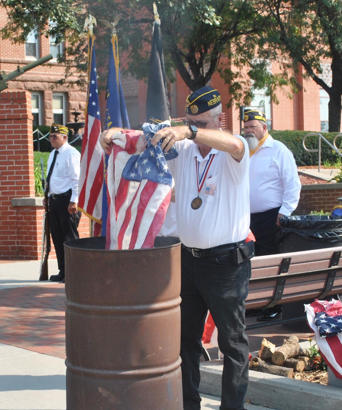 flag burning 1