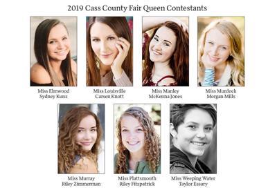 2019 Cass County Fair Queen Contestants