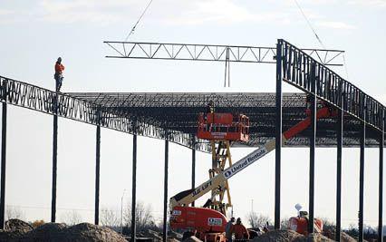 Construction starts on new Menards