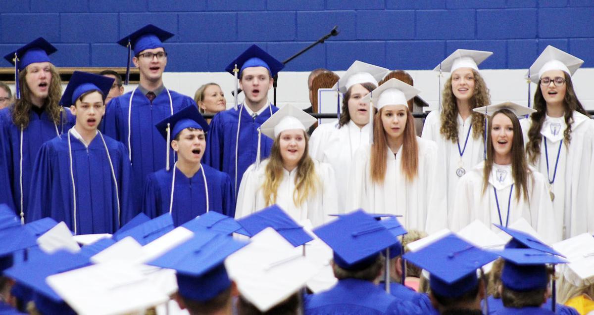 Plattsmouth Senior Choir performs