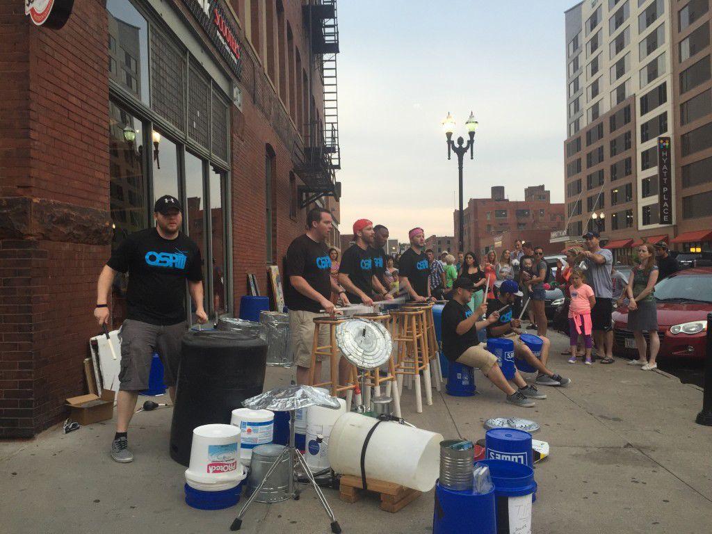 omaha street percussion