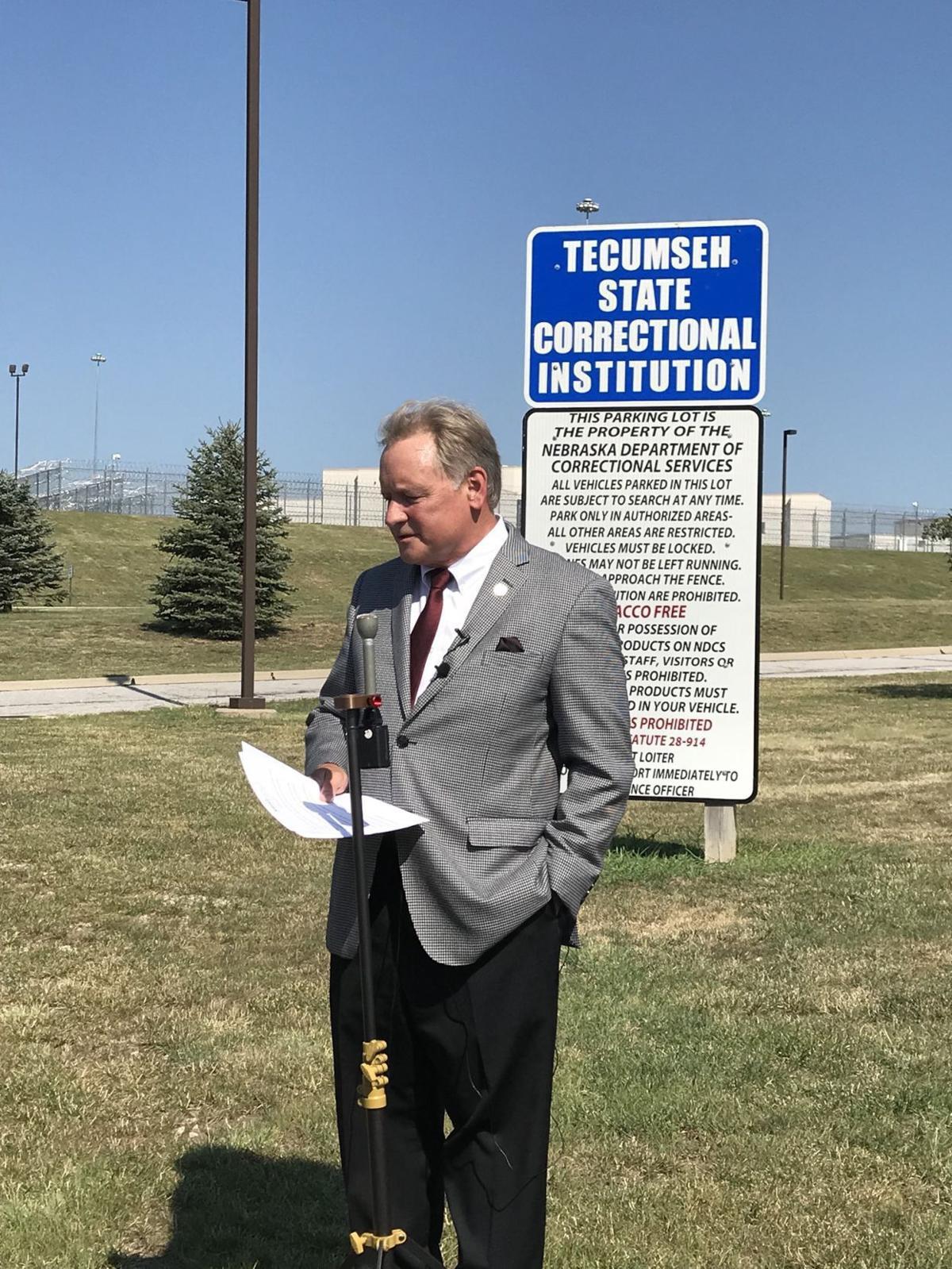 Sen. Bob Krist at Tecumseh