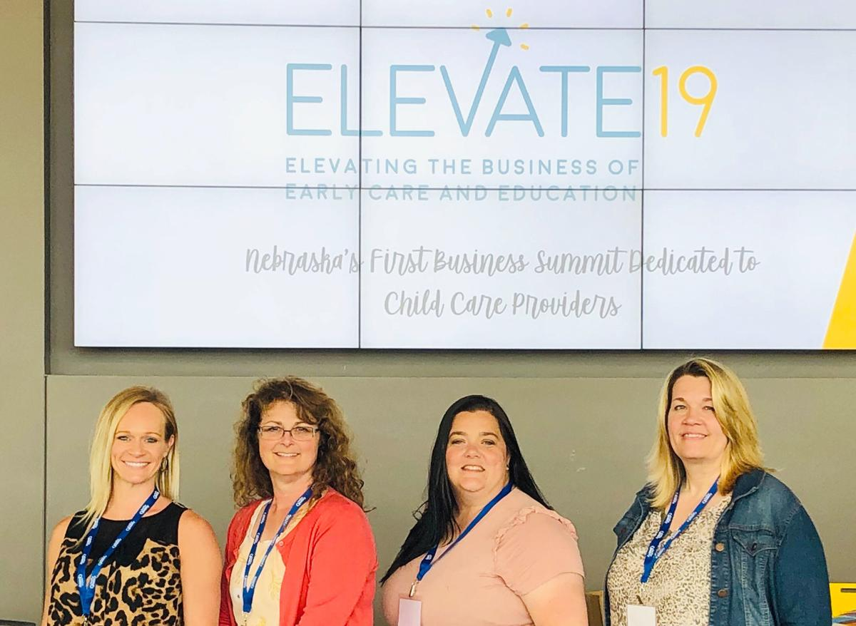 Childcare providers by Elevate19 sign
