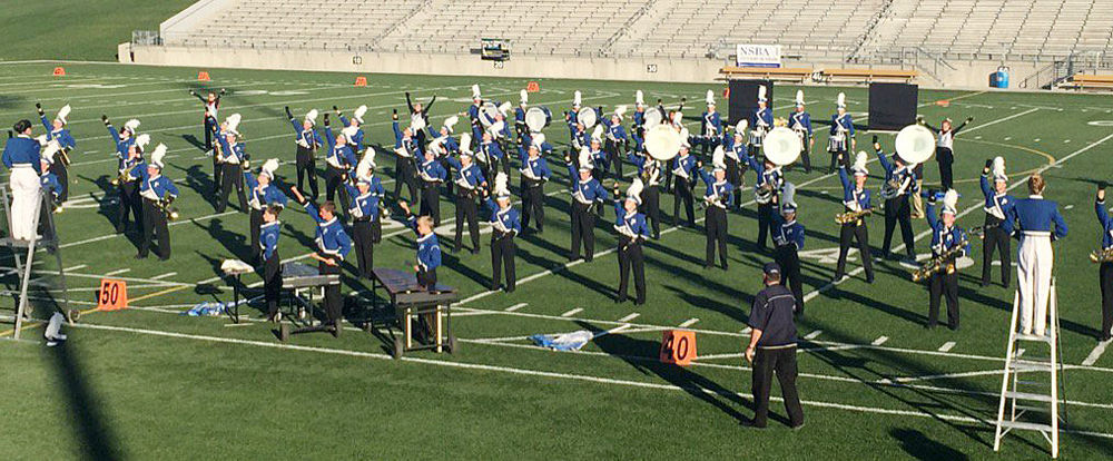 Blue Devils earn top rating at state marching band contest