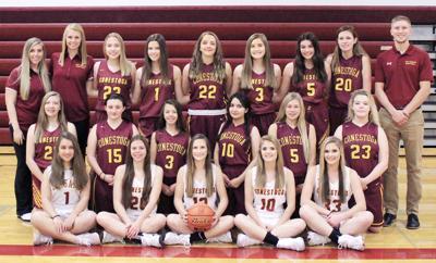 2018-19 Conestoga girls basketball team photo