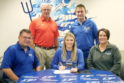 Haley Miller signs with Doane track and field program