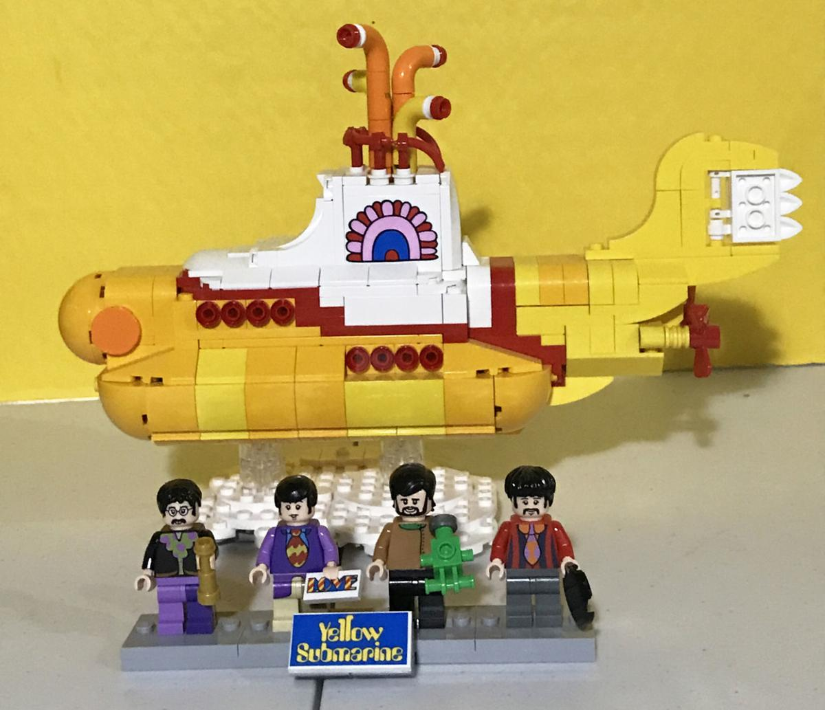 Lego Beatles and sub