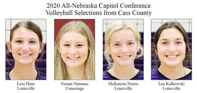 2020 All-Nebraska Capitol Conference Volleyball Selections from Cass County