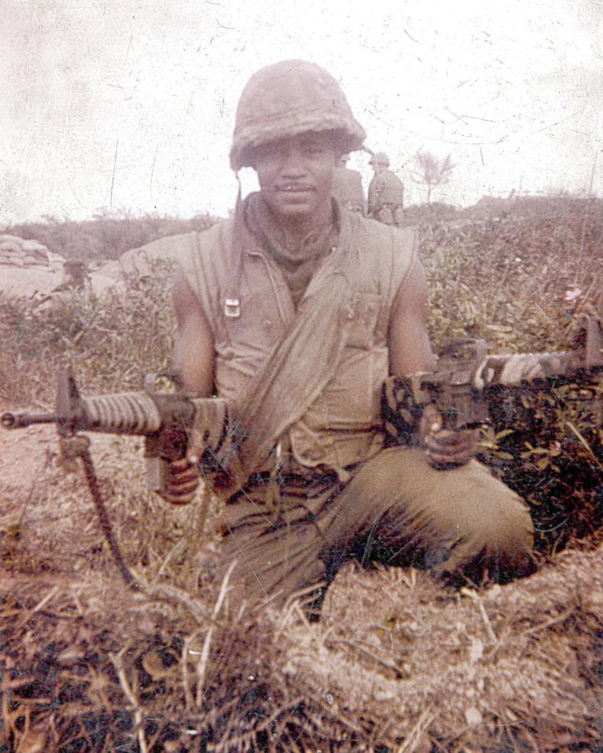 Arthur at 18 in Vietnam