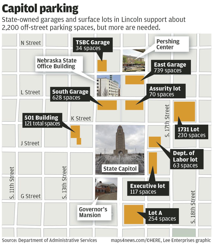 Capitol parking map