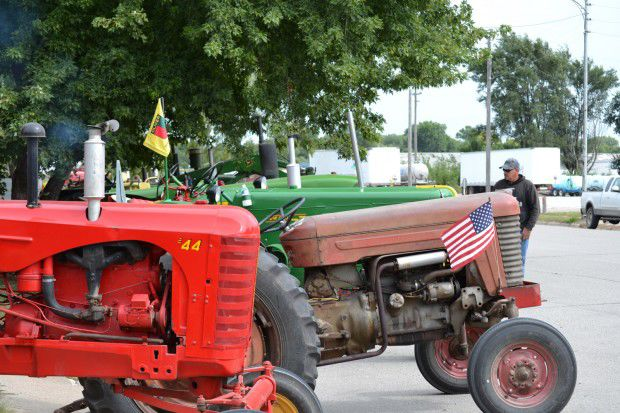 Goldenrod Tractor Ride