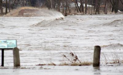 Louisville flooding photograph