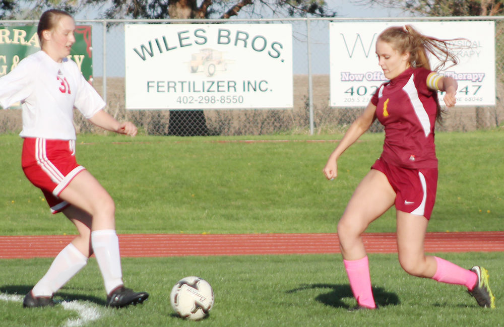 Kelsi Weilage soccer photo for story