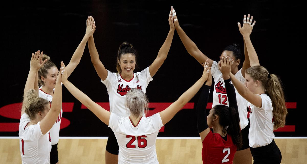 NU volleyball vs. Stanford, 9.18