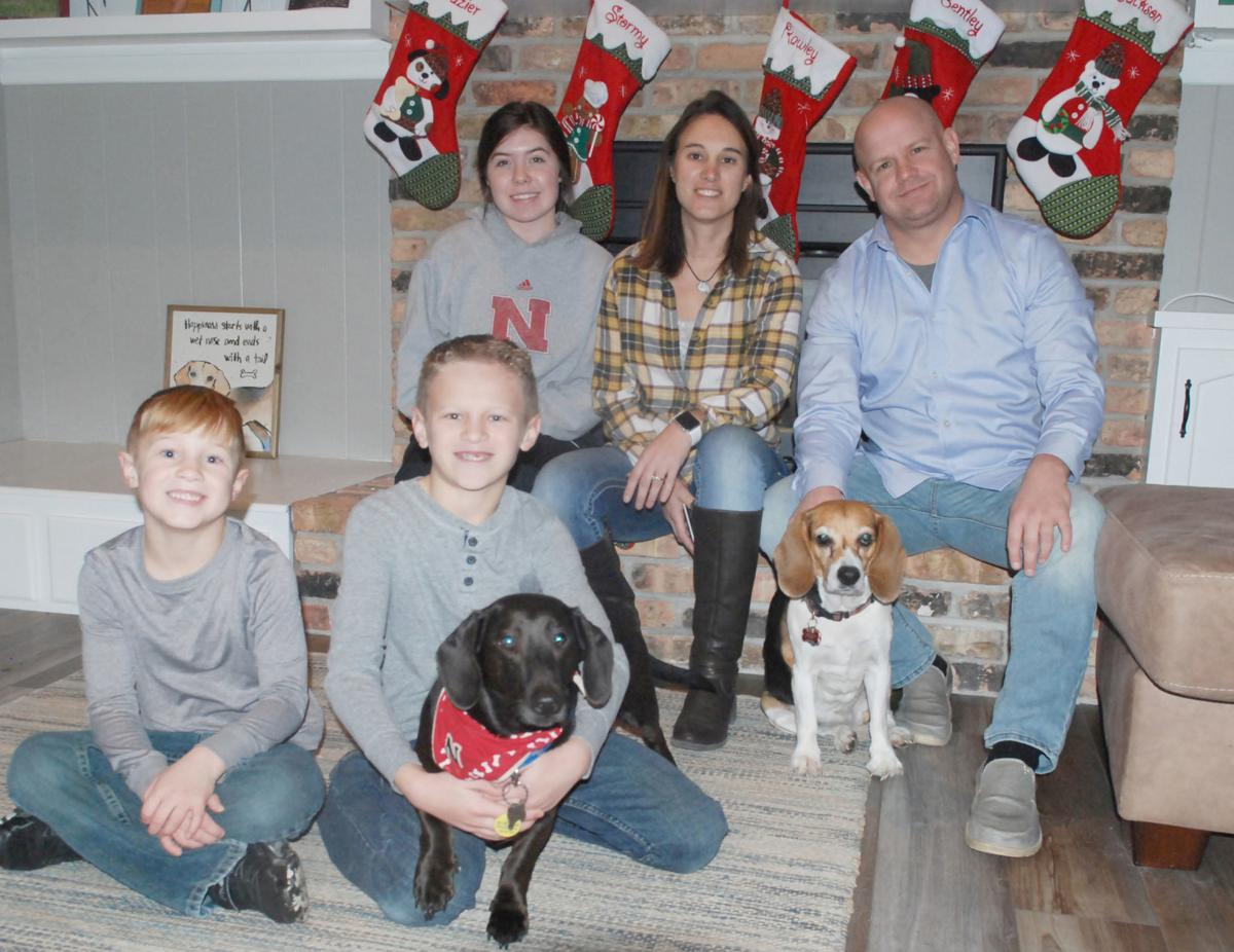 Bentley and family