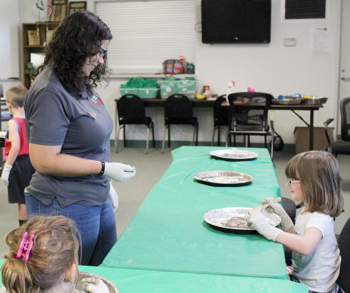 Grace Lowe photo at workshop